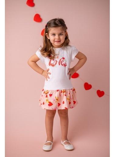 Zeyland Beyaz Love Fırfırlı Elbise (9ay-4yaş) Beyaz Love Fırfırlı Elbise (9ay-4yaş) Beyaz